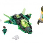 SDCC Lego Green Lantern Set with GL and Friends!
