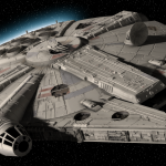 S7AR WARS NEWS: Millennium Falcon Images Leak