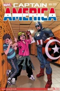 """Captain America #25"" Anti Bullying Variant"