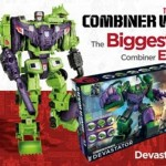 Update: Transformers Combiner Wars Devastator Revealed with New Pic