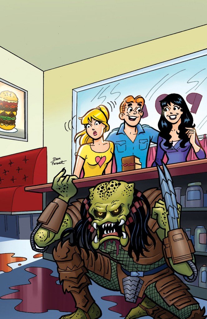 REVIEW: Archie vs. Predator #1 - Get To Da Comic Shoppa!