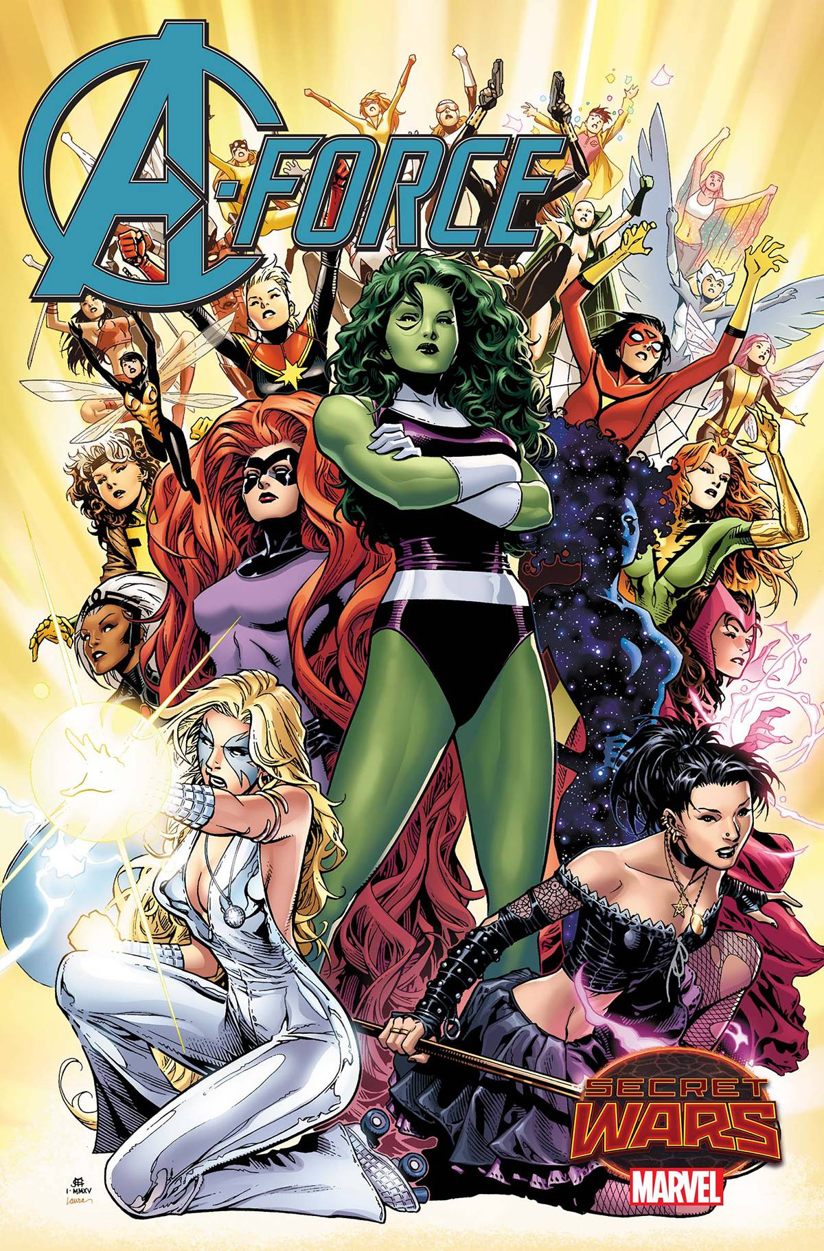 REVIEW: A-Force #1 - Girls Run The World