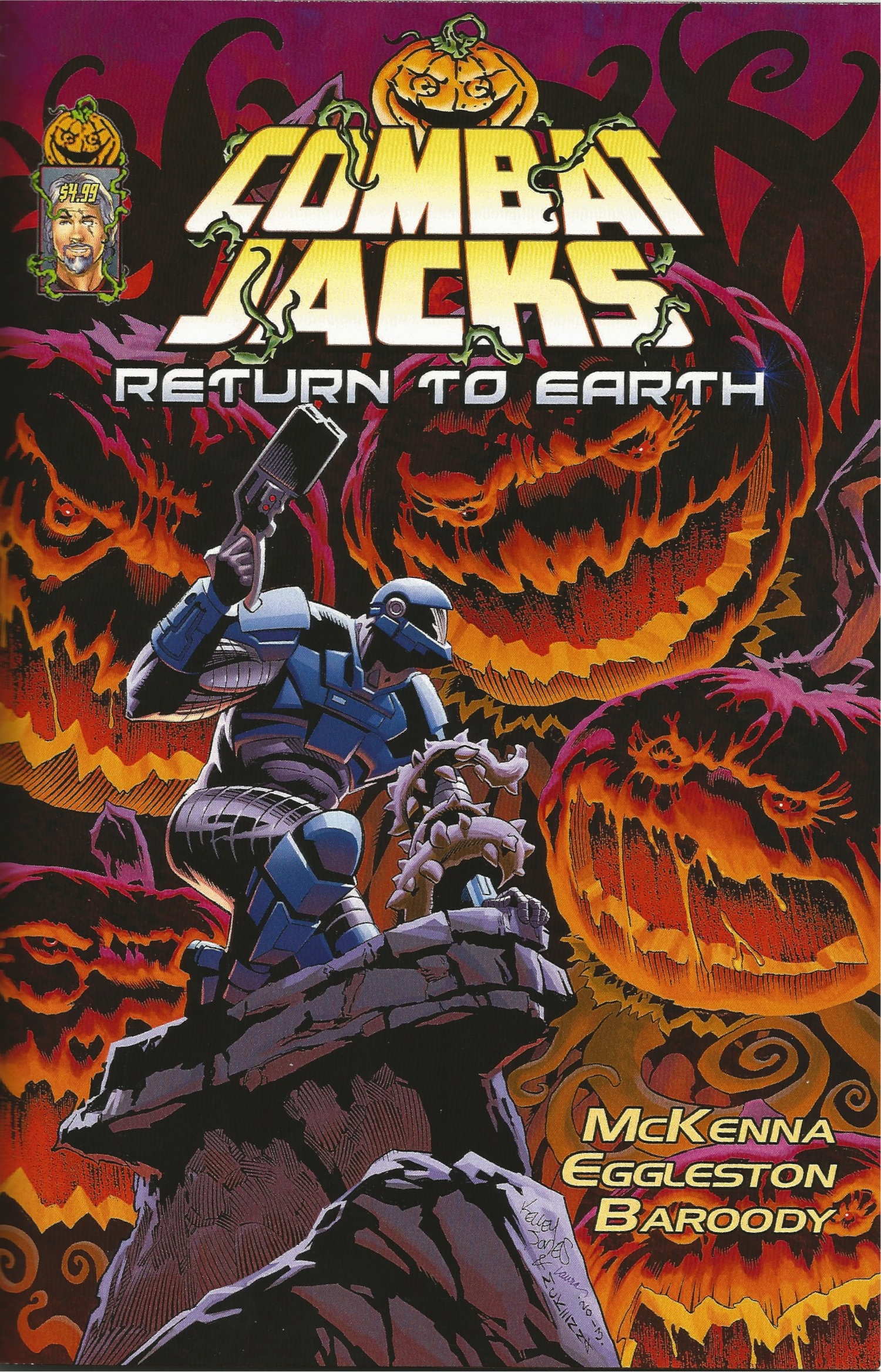 REVIEW: Combat Jacks #2 - Return To Earth