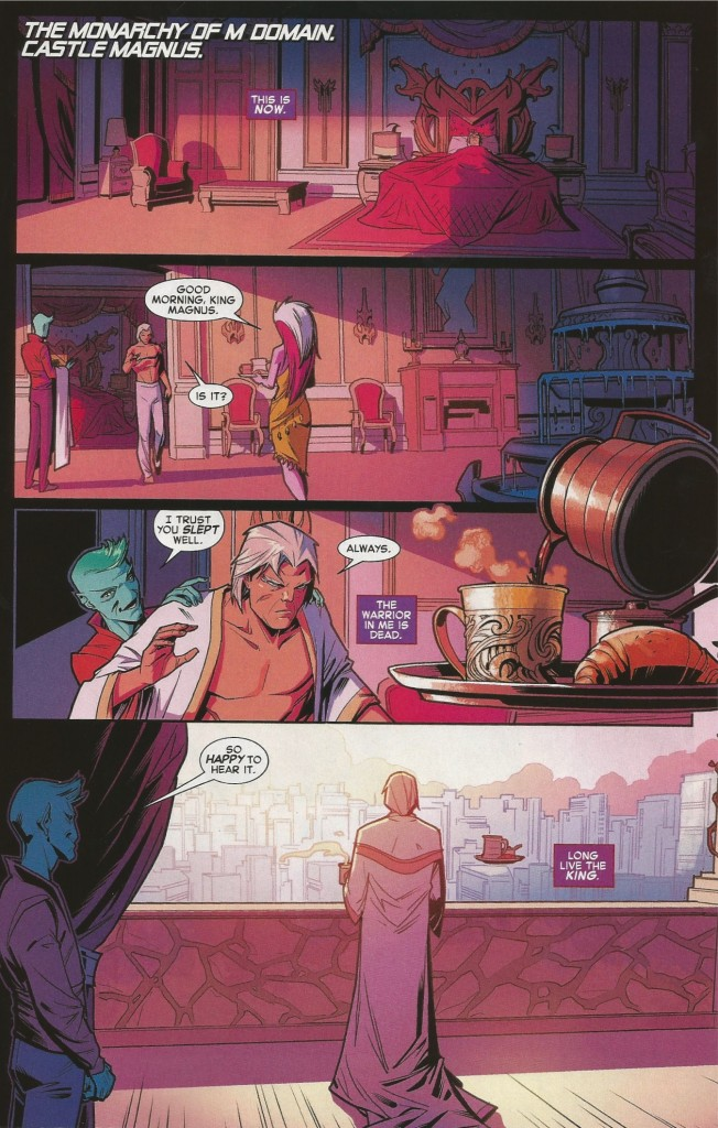 Comic Review: Secret Wars House of M #1 - Long Live The King
