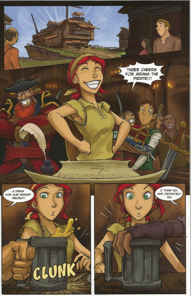Indie Comic Review: Anne Bonnie #5 - Ariana the Pirate
