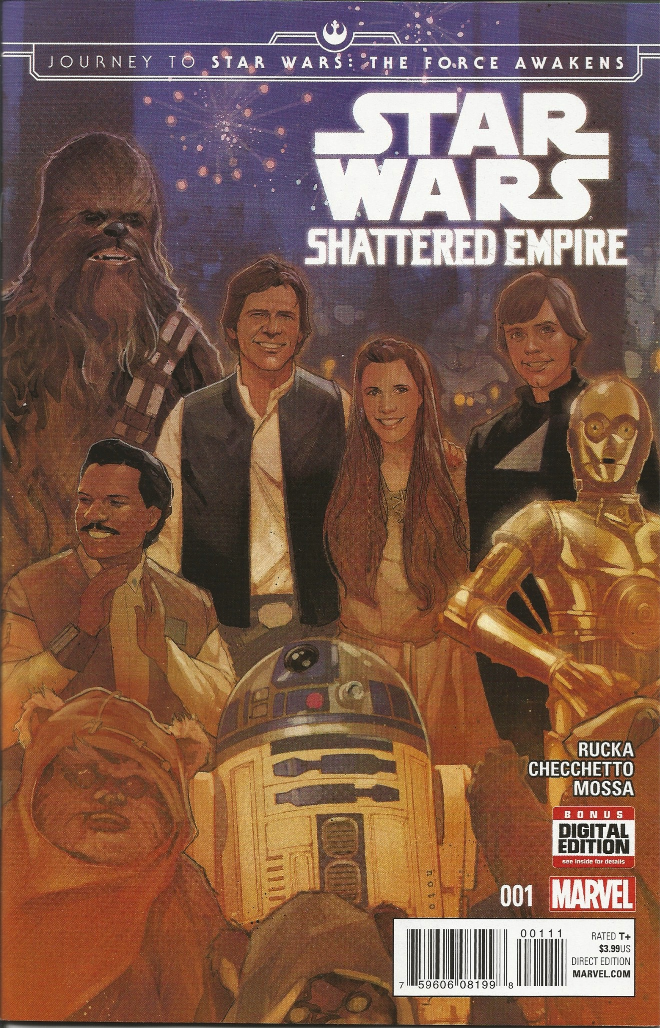 Comic Review: Star Wars: Shattered Empire - The Morning After
