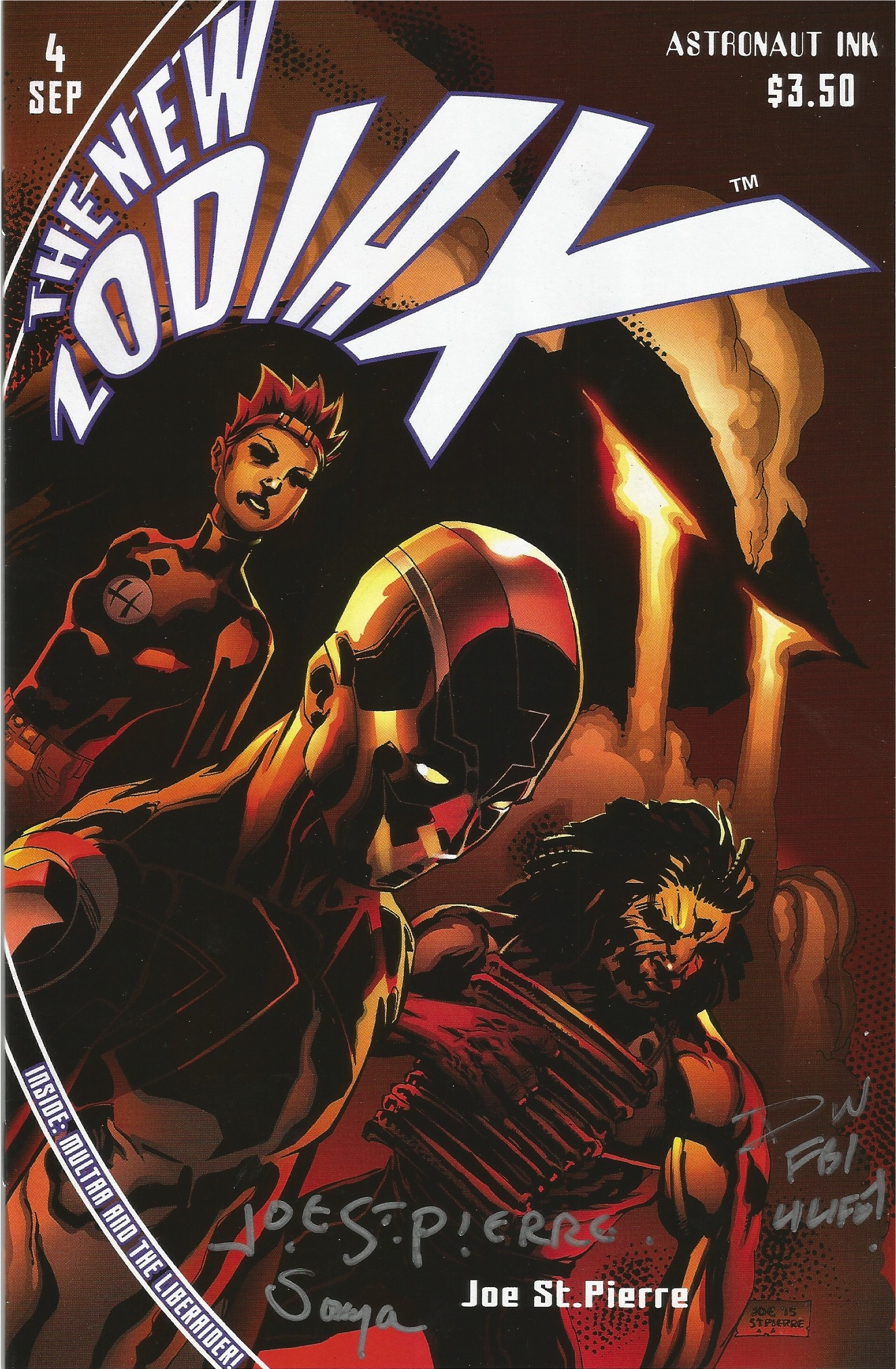 INDIE COMIC REVIEW: The New Zodiax #4 - Multaa