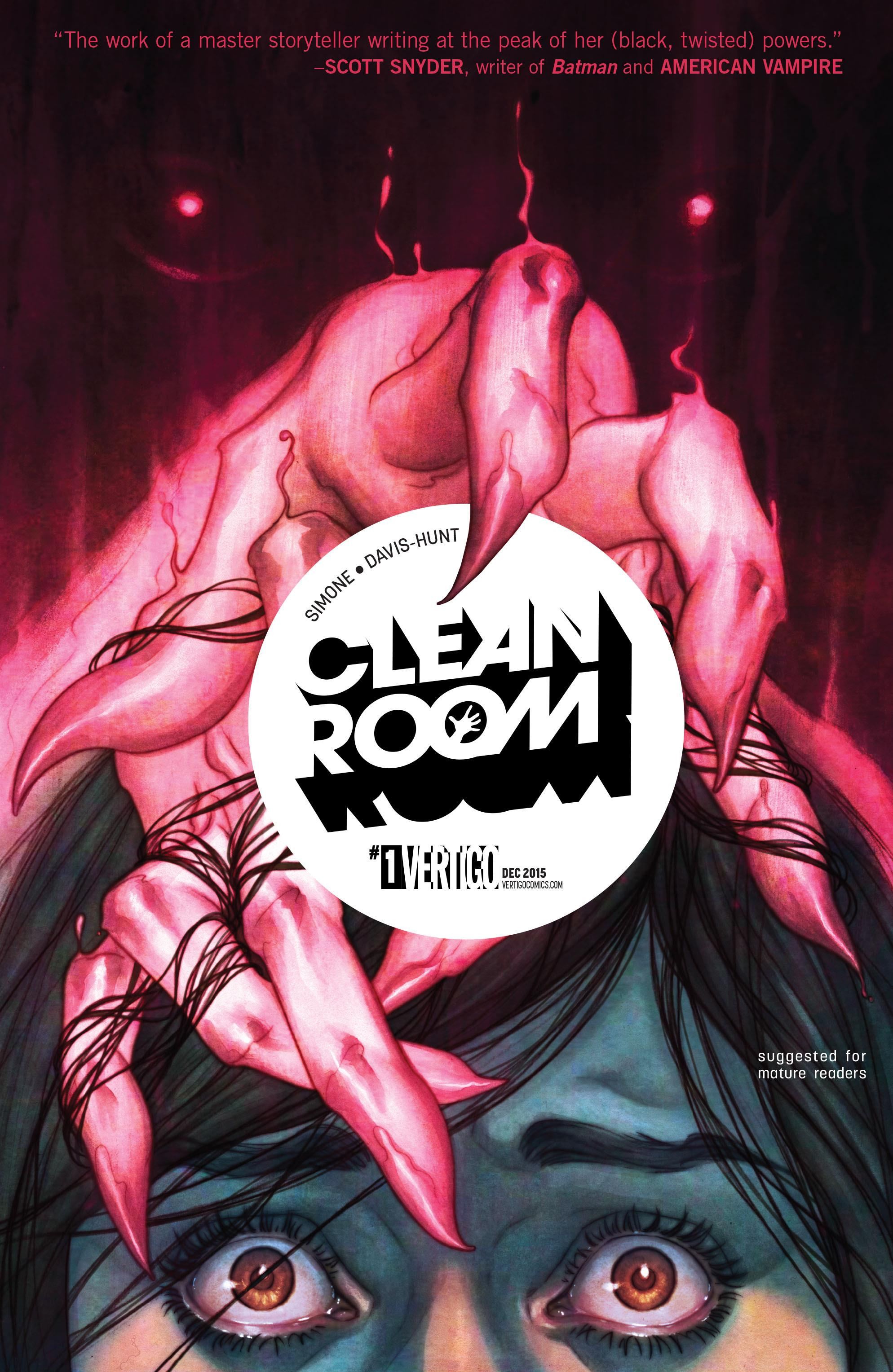 COMIC REVIEW: Clean Room # 1 - A Brutal Start