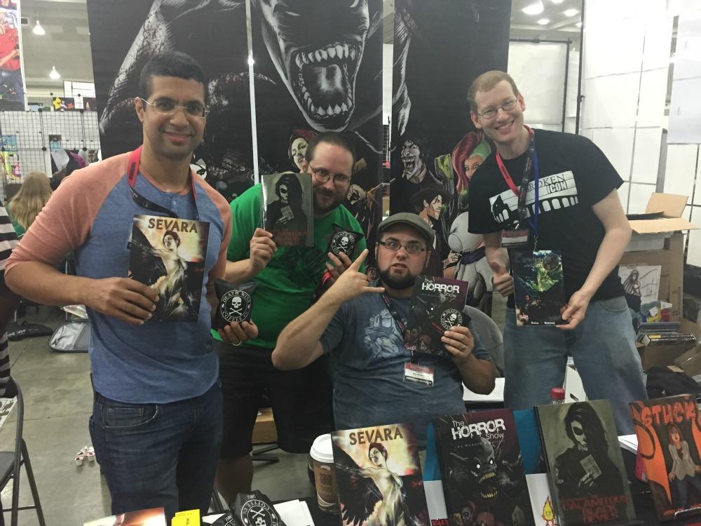 COMICS CREATOR INTERVIEW: Damien Wampler of Sevara