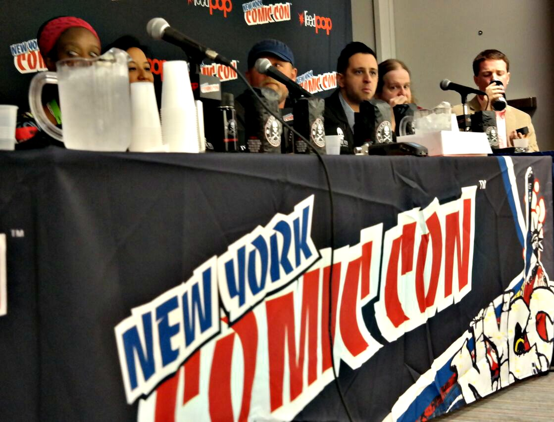 NEW YORK COMIC CON: Comic Creators Consuming Coffee: Where Food and Comic Collide, Presented by Death Wish Coffee