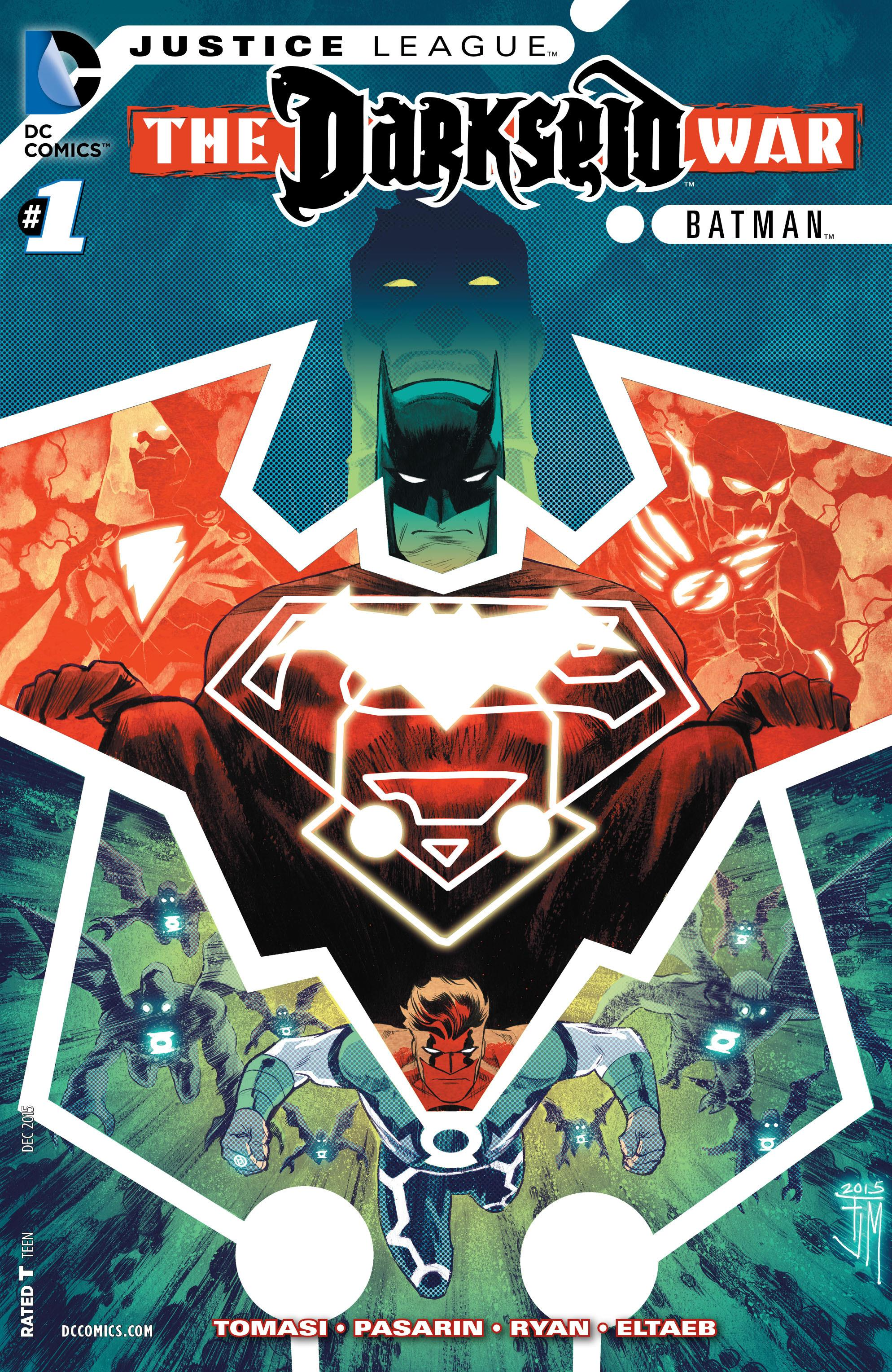 COMIC REVIEW: Justice League: Darkseid War: Batman #1