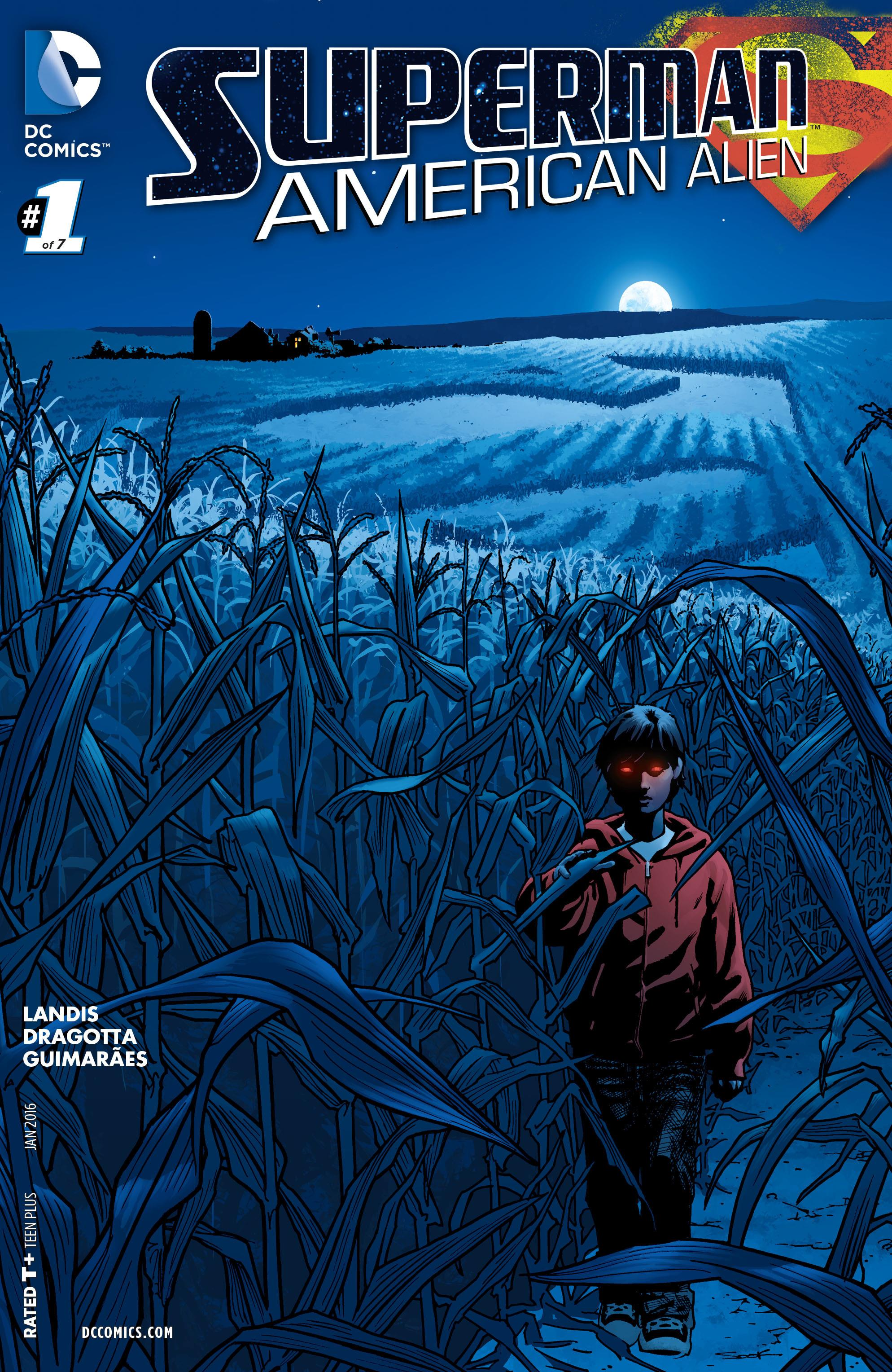 COMIC REVIEW: Superman: American Alien #1 - Dove