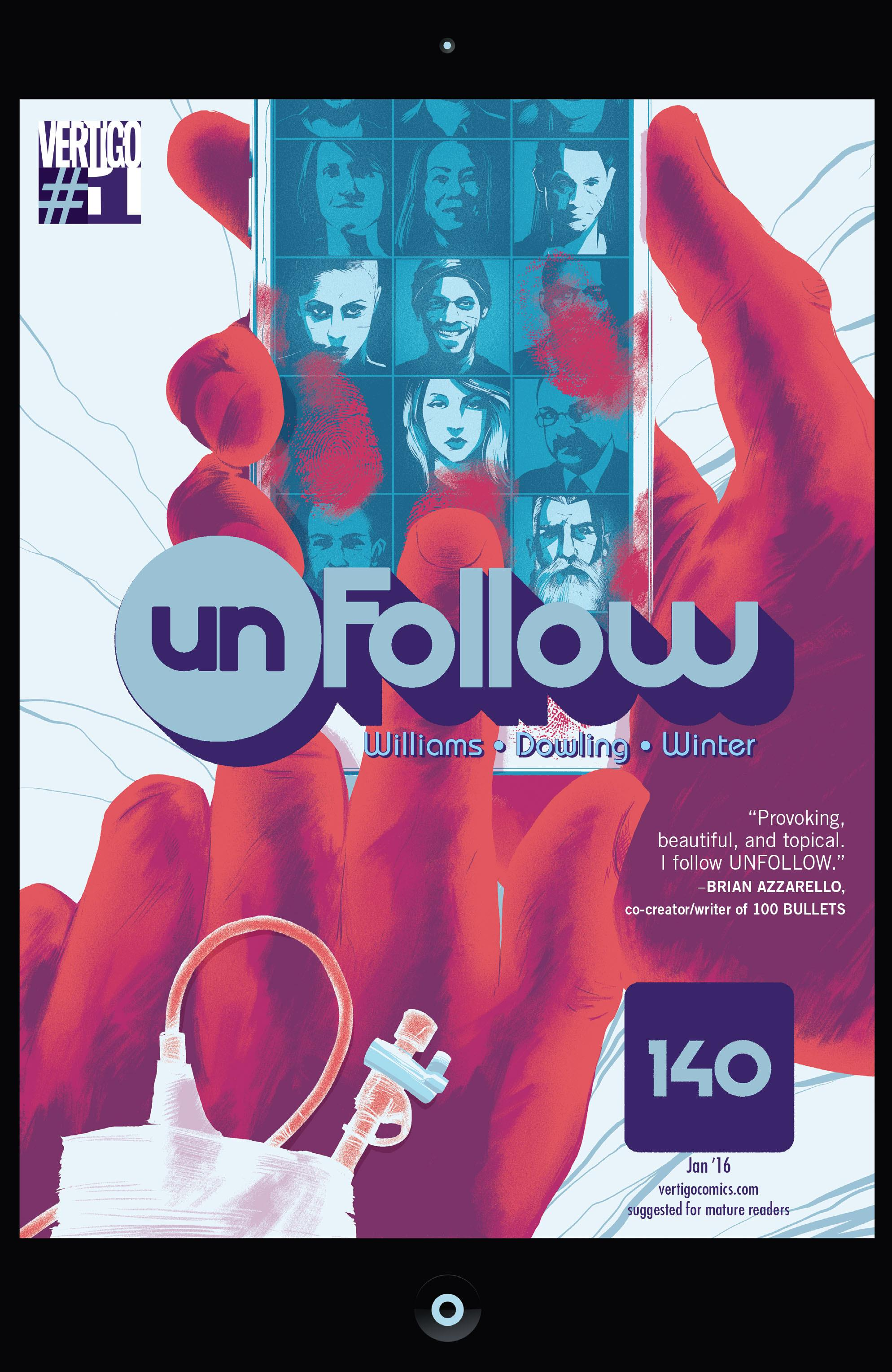 COMIC REVIEW: Unfollow #1 - A Motley Crew