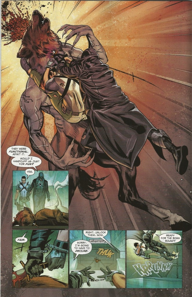 COMIC REVIEW: Midnighter #5 - In The Jaws of Death