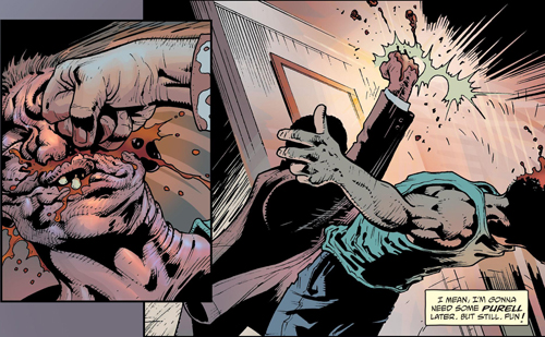 COMIC REVIEW: Jacked #2 - It's Clobberin' Time