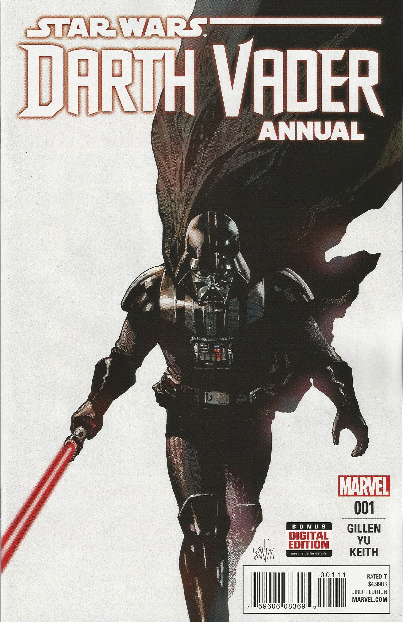 COMIC REVIEW: Darth Vader Annual 1 - Who We Serve