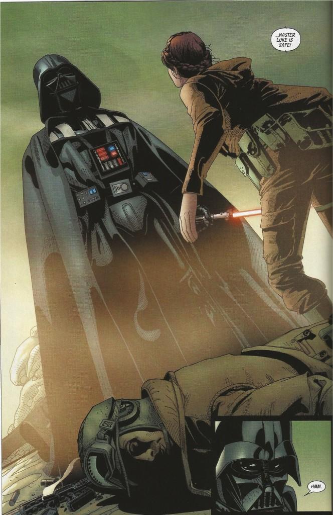 COMIC REVIEW: Darth Vader #14 - Vader Down Part 4