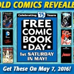 FREE COMIC BOOK DAY 2016: Gold Covers Revealed!