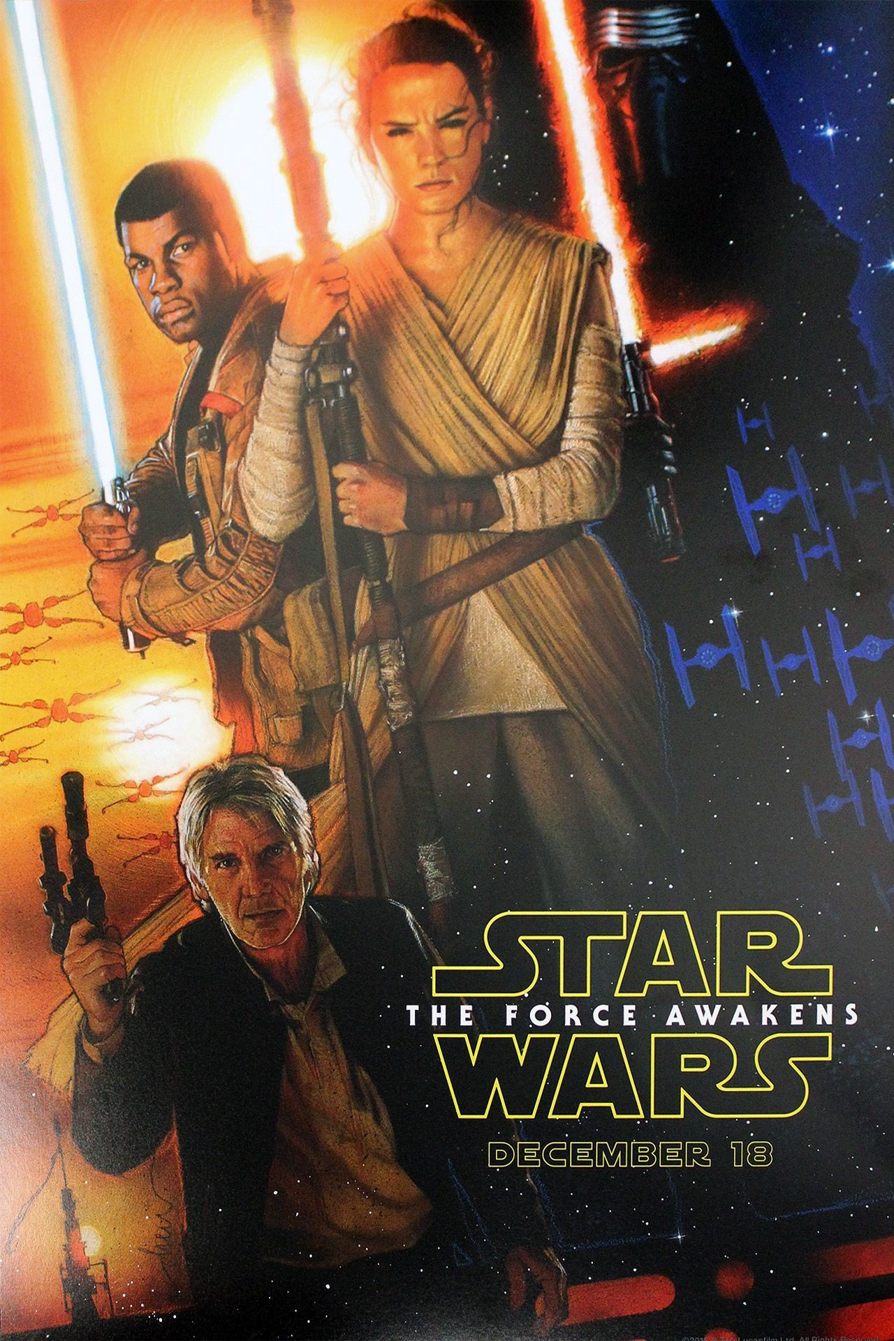 SPOILER-FREE MOVIE REVIEW: Star Wars The Force Awakens