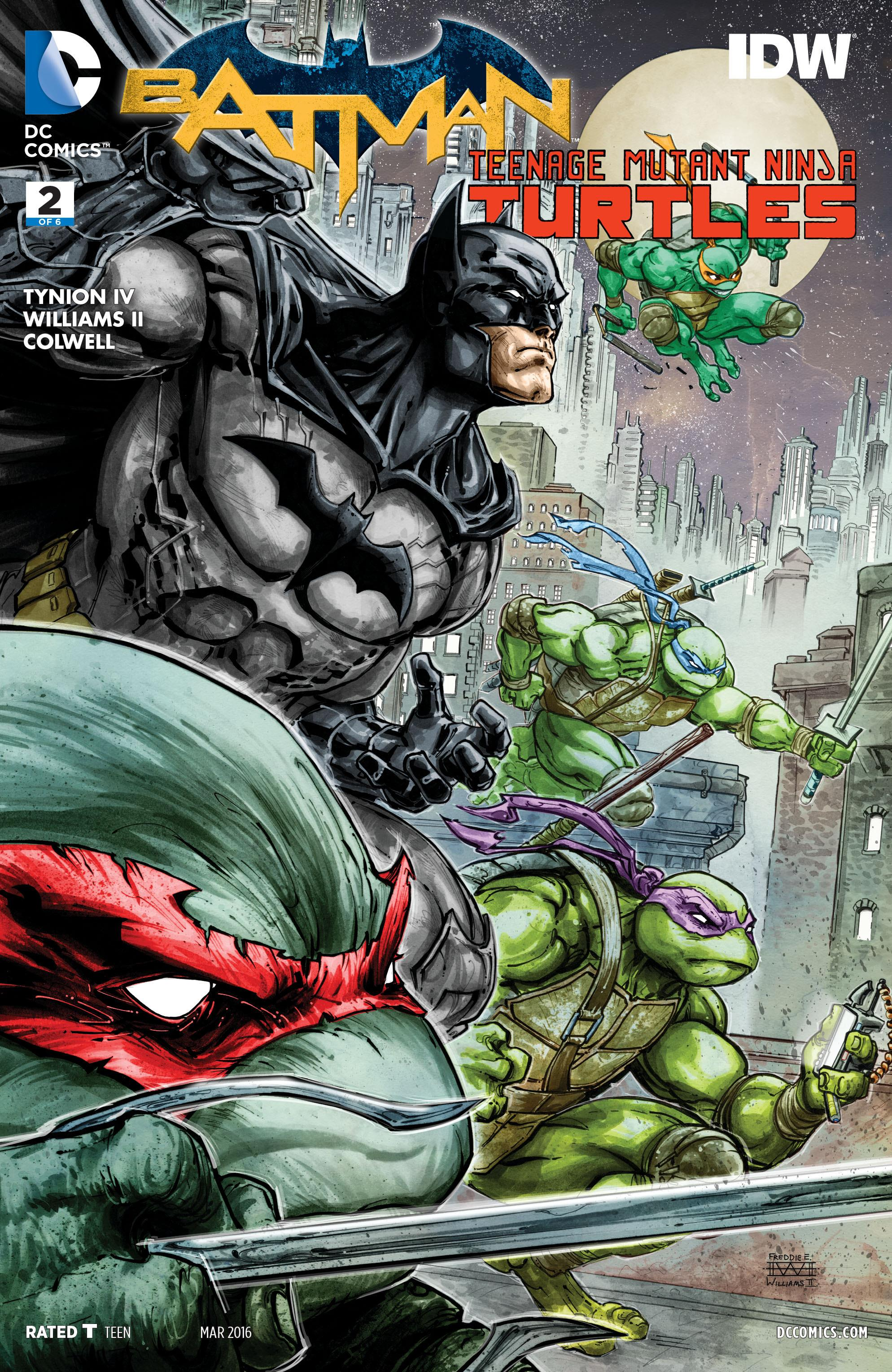 COMIC REVIEW: Batman / Teenage Mutant Ninja Turtles #2
