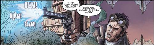 ADVANCE COMIC REVIEW: Gutter Magic #1 - Bullets Still Work