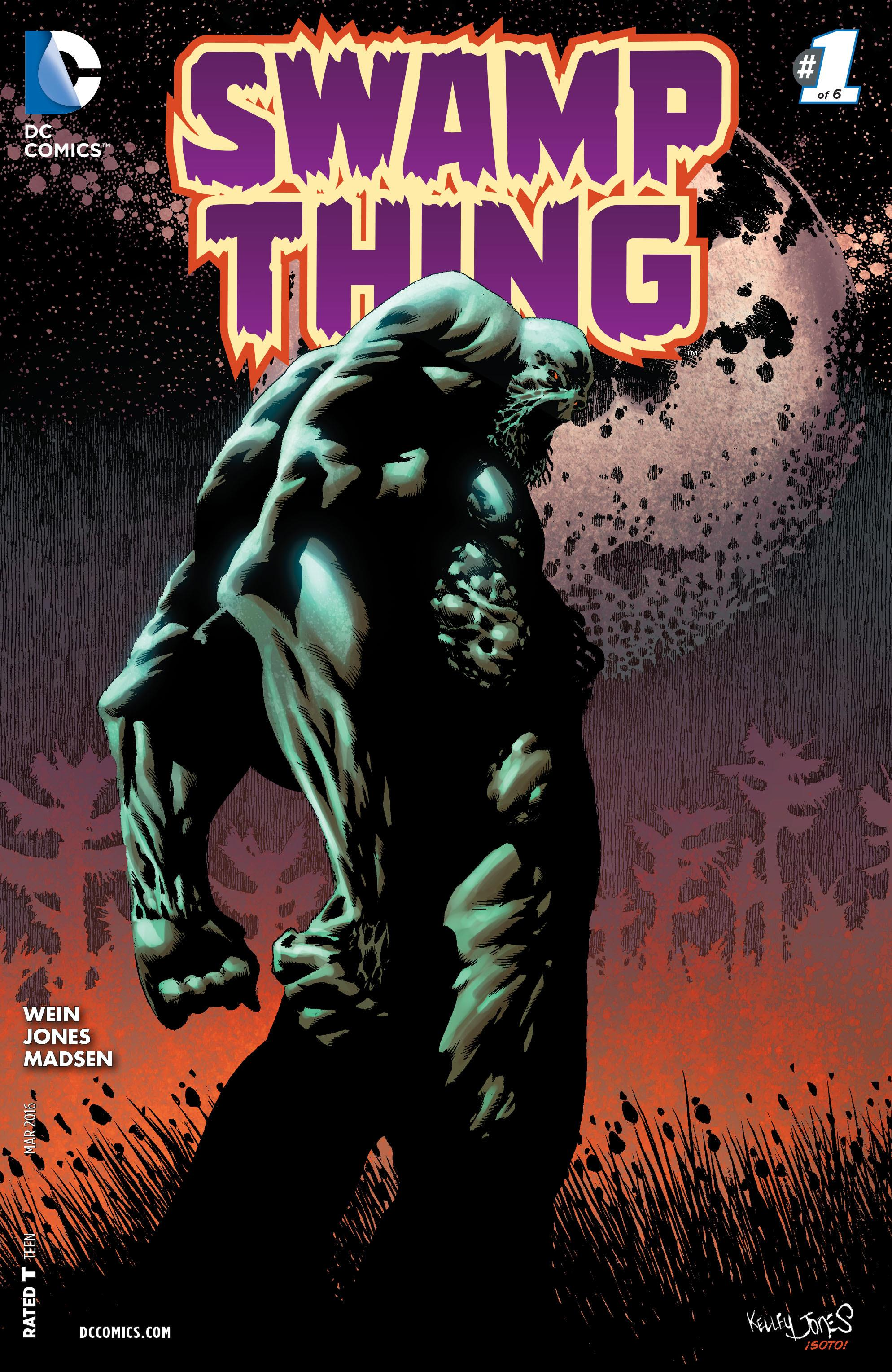 COMIC REVIEW: Swamp Thing #1 - Unfortunate Son