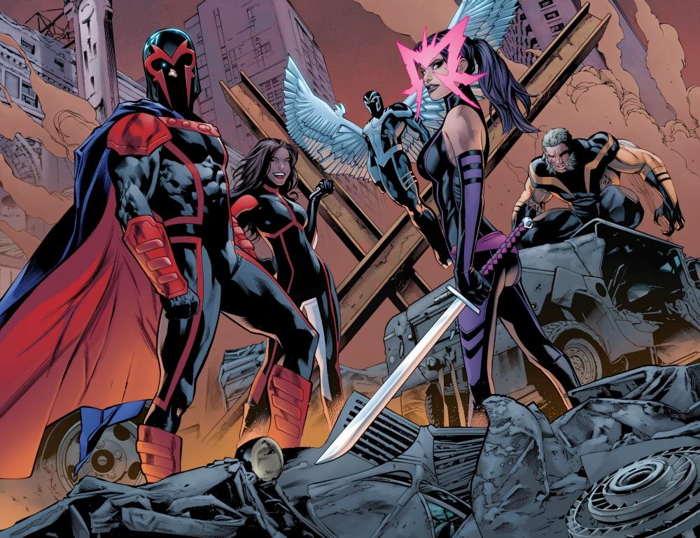 COMIC REVEIW: Uncanny X-Men #1 - A New Beginning