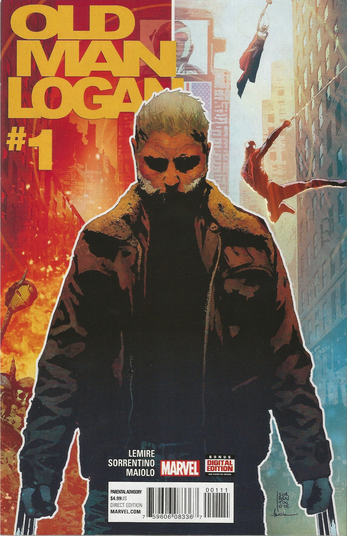 COMIC REVIEW: Old Man Logan #1 - Berserker