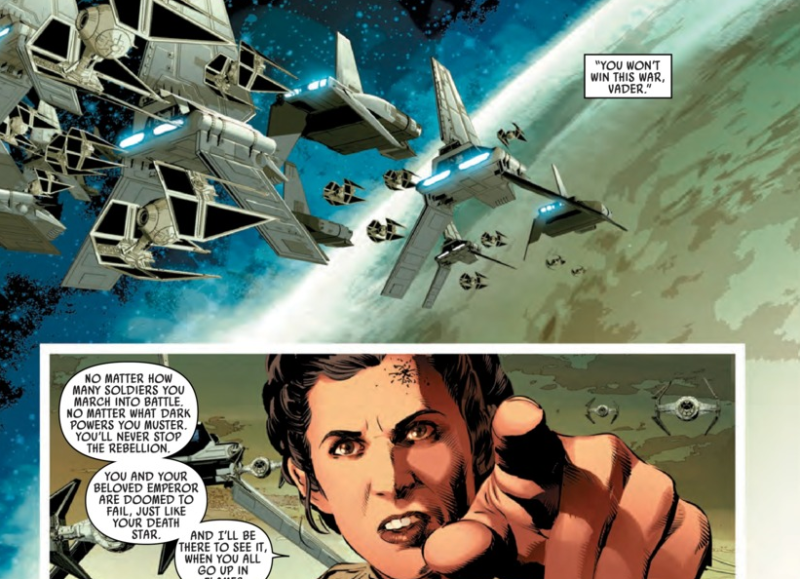 COMIC REVIEW: Star Wars #14 - Vader Down 5 of 6