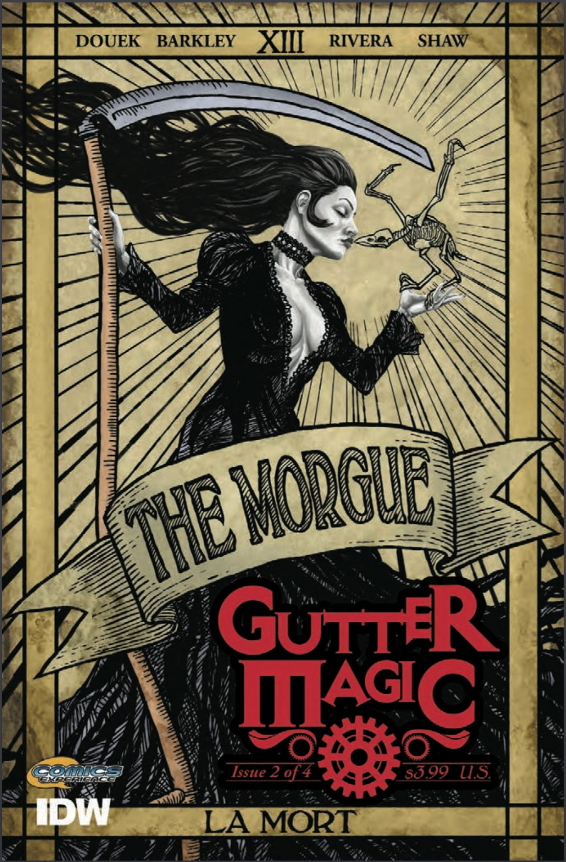 INDIE COMIC REVIEW: Gutter Magic #2 - He Lives