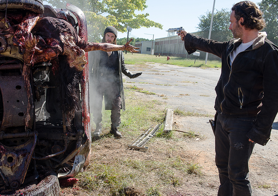 TV REVIEW: The Walking Dead Season 6, Episode 11 - Knots Untie