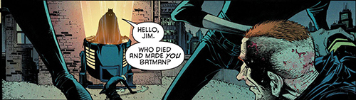 COMIC REVIEW: Batman #50 - Welcome Back, Bruce