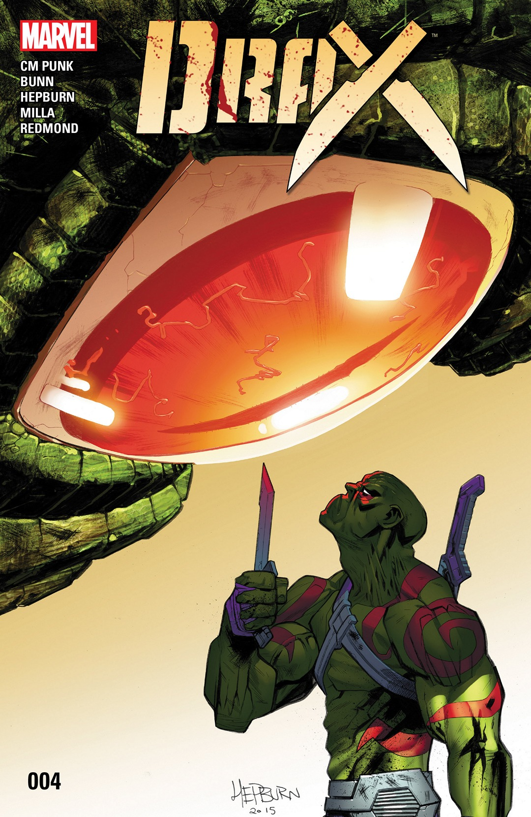 COMIC REVIEW: Drax #4 - The Dragon's Breath