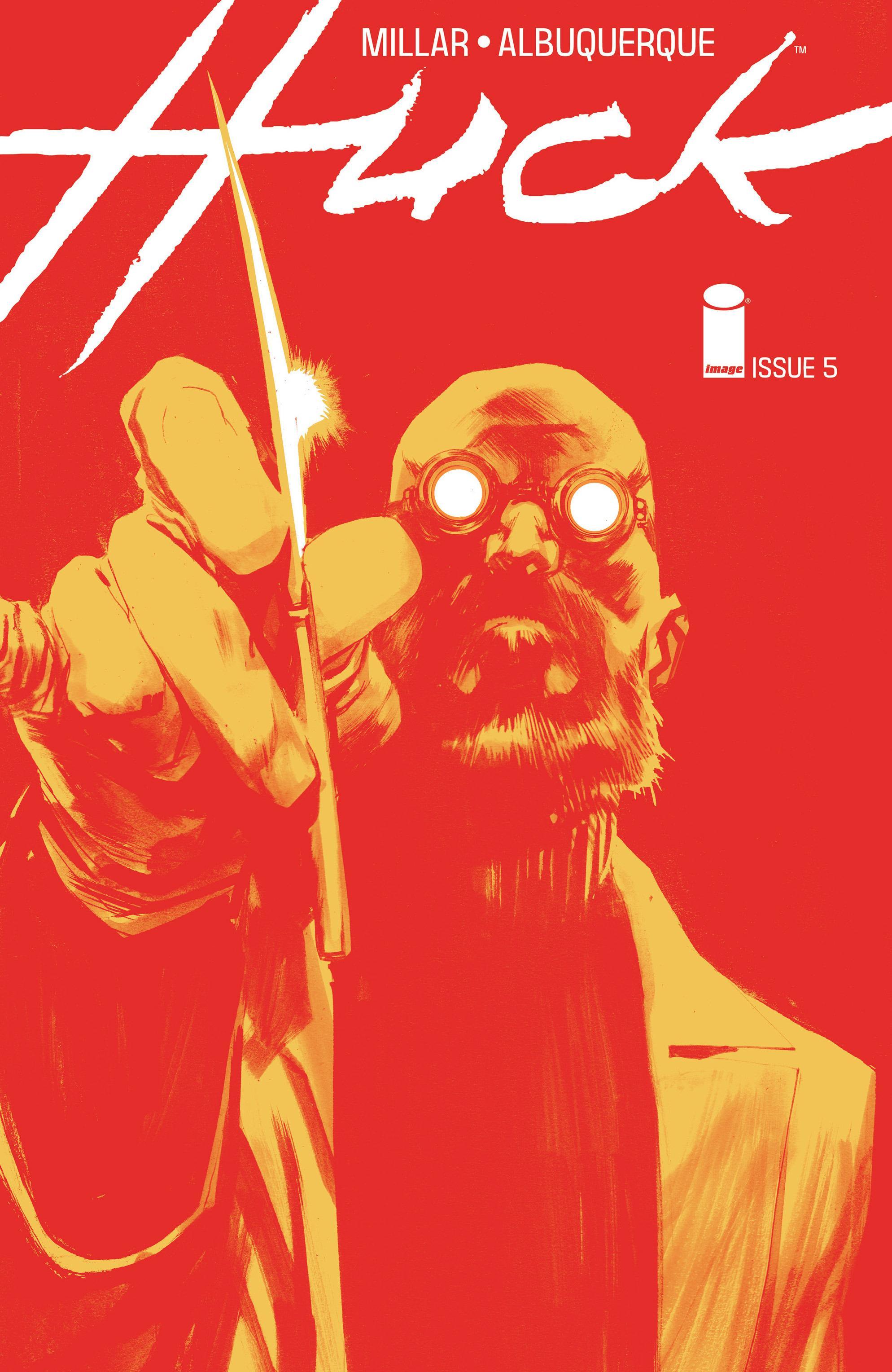 COMIC REVIEW: Huck #5 - Orlov's Big Day