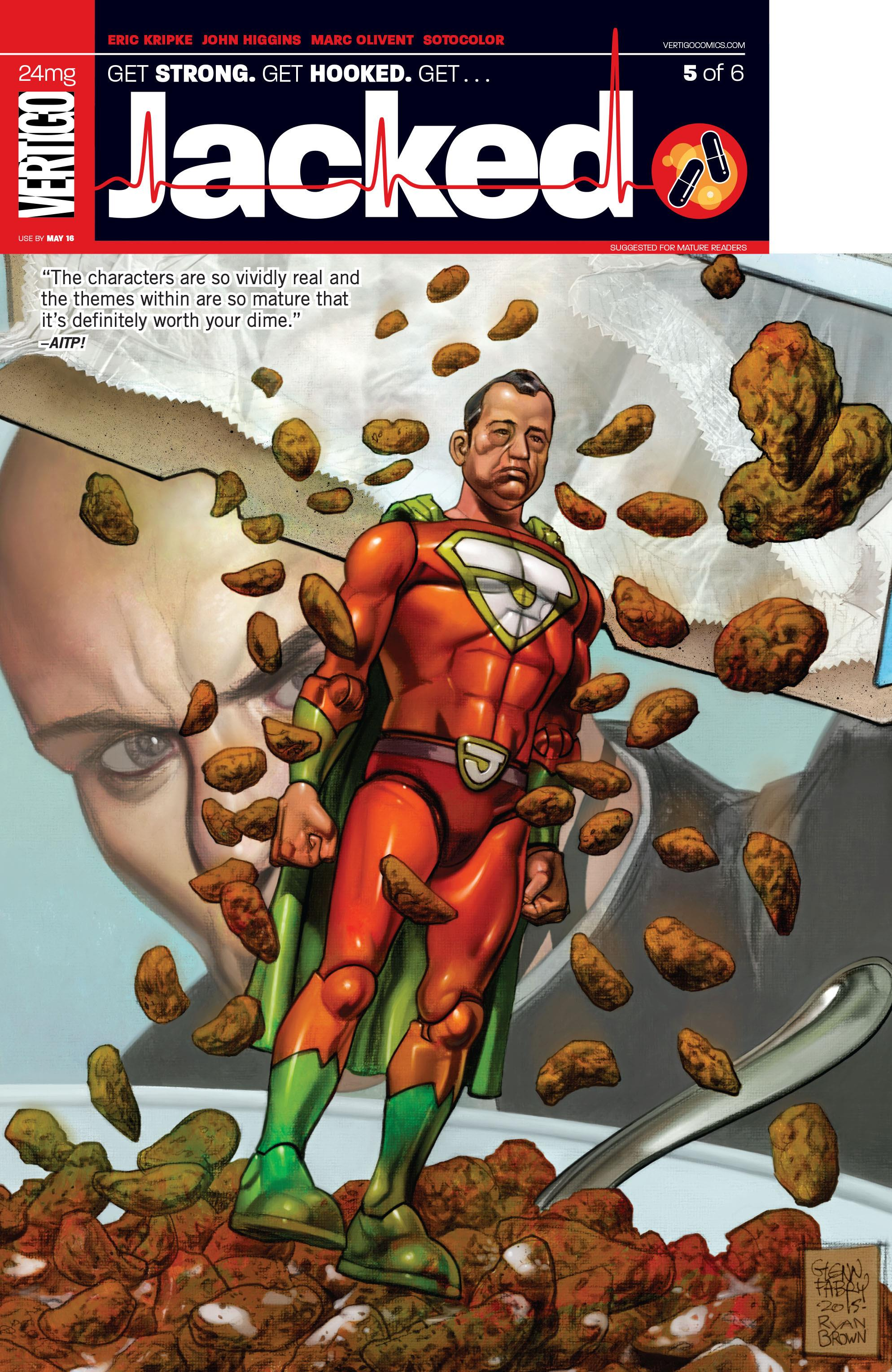 COMIC REVIEW: Jacked #5 - One Bad Trip