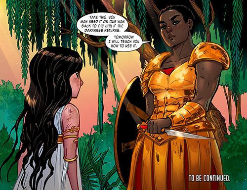 COMIC REVIEW: The Legend of Wonder Woman #3 - Black Smoke