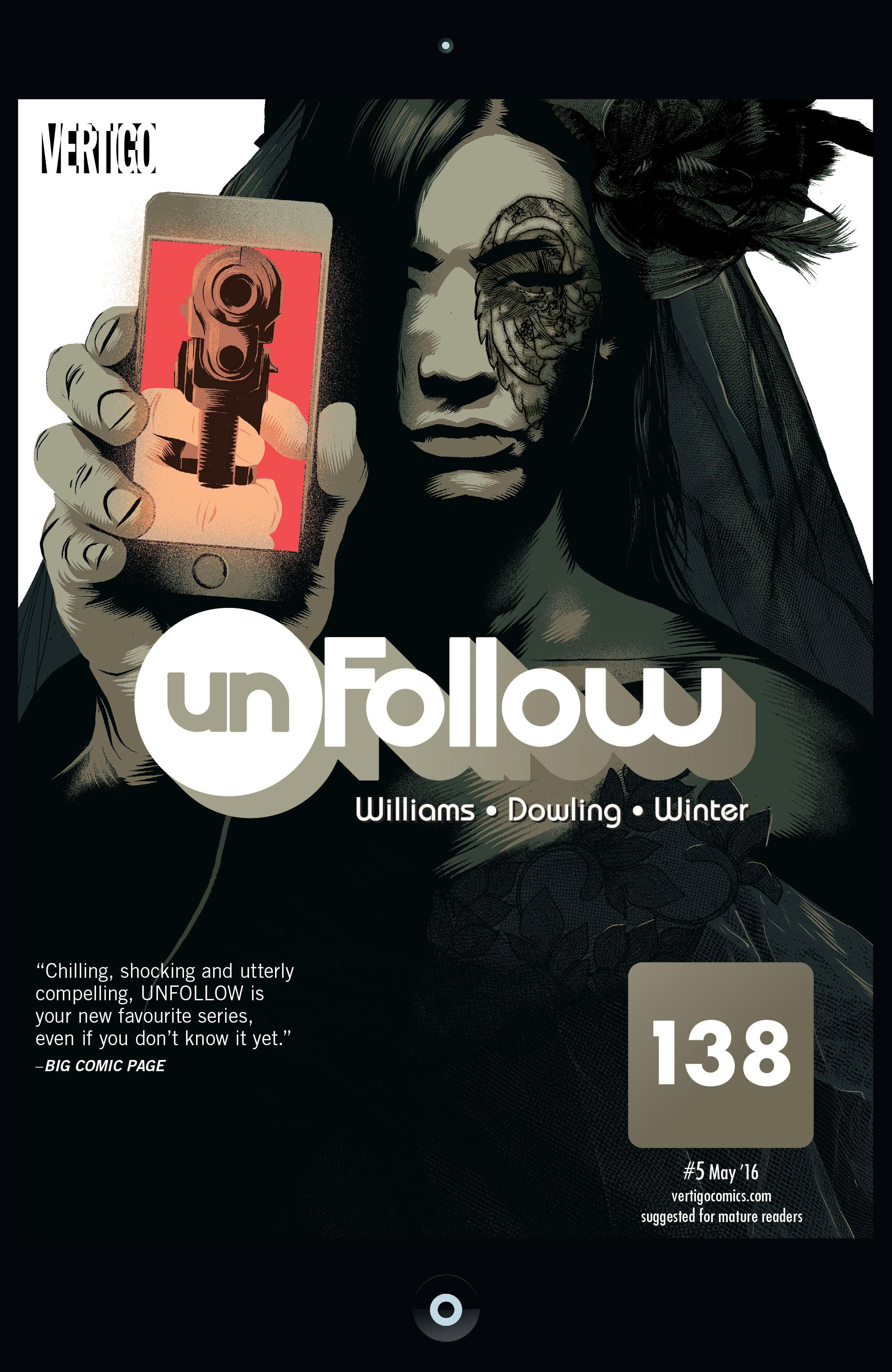 COMIC REVIEW: Unfollow #5 - We Are 138